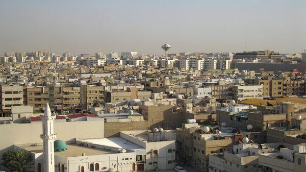 Вид города Эр-Рияд - столицы Саудовской Аравии