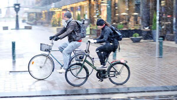 Жители города Хельсинки, Финляндия