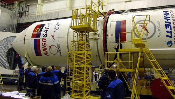 Космический аппарат Ангосат