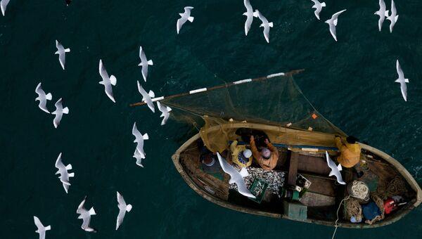 Рыбаки. Архивное фото