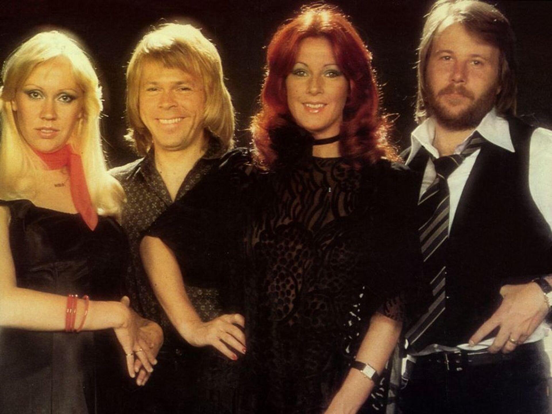 Группа ABBA - РИА Новости, 1920, 16.10.2020