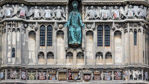 Кентерберийский собор - главный англиканский храм Великобритании. Архивное фото
