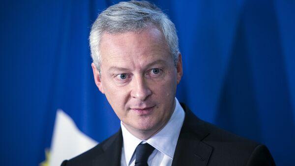 Министр финансов Франции Брюно Ле Мэр
