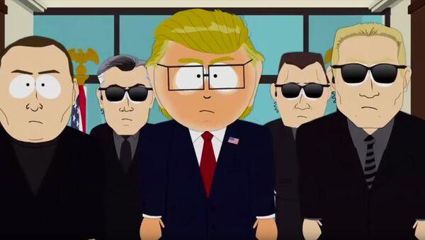 Кадр из мультфильма Южный парк (South Park)