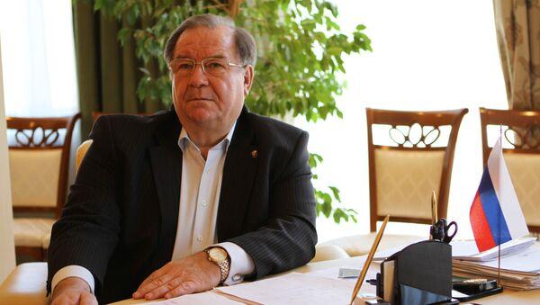 Генеральный директор Госфильмофонда Николай Бородачев. Архивное фото