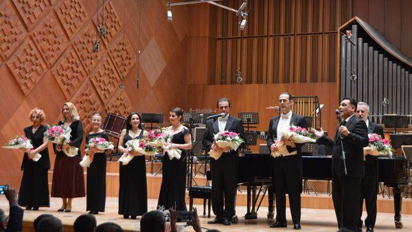 Концерт турецких мастеров искусств в Анкаре, посвященный памяти посла России в Турции Андрея Карлова