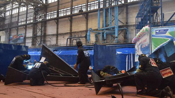 Строительство патрульного корабля проекта 22160 на Зеленодольском судостроительном заводе