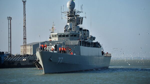 Иранский эсминец Дамаванд