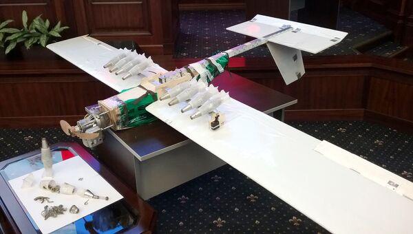 Беспилотный летательный аппарат, обнаруженный вблизи авиабазы Хмеймим в Сирии