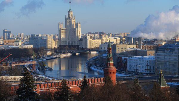 Виз зимней Москвы. Архивное фото