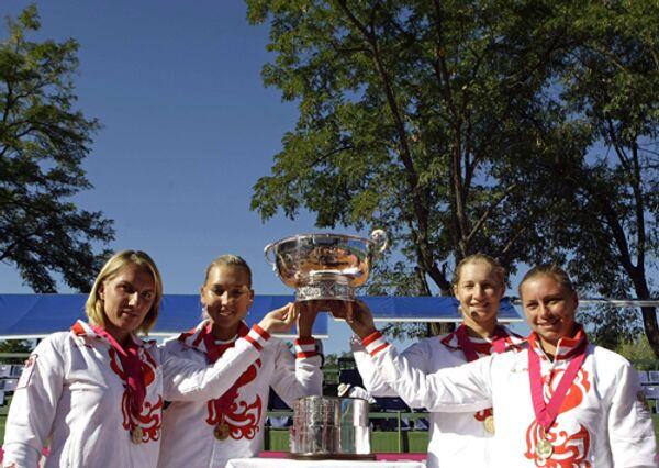 Женская сборная России по теннису выиграла Кубок Федерации-2008