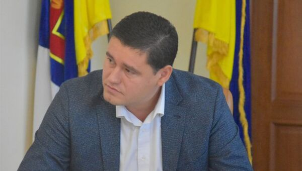 Депутат Одесского облсовета Олег Бабенко. Архивное фото
