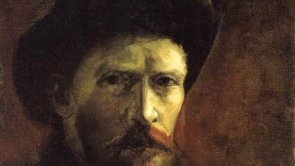 Автопортрет Ван Гога в темной фетровой шляпе. 1886 г