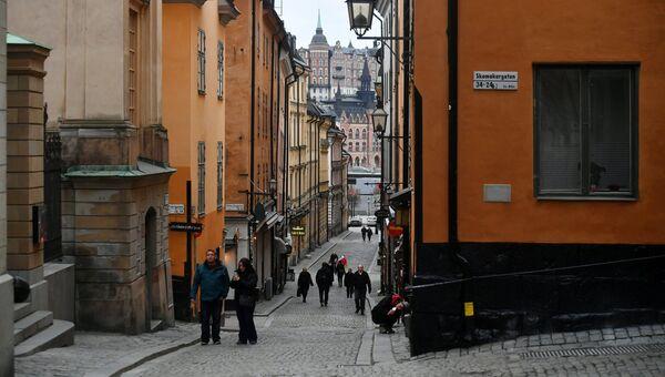 Улица в Стокгольме. Архивное фото