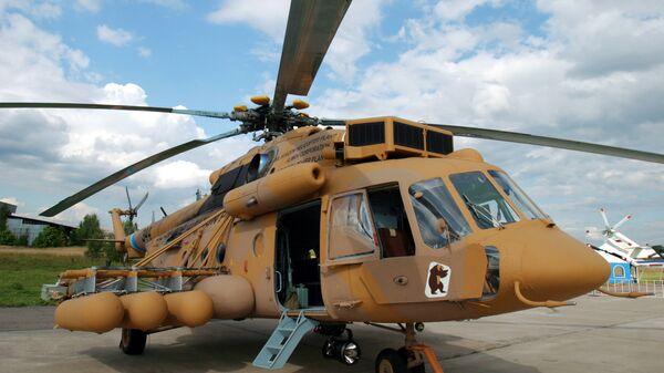 Военно-транспортный вертолет Ми-171