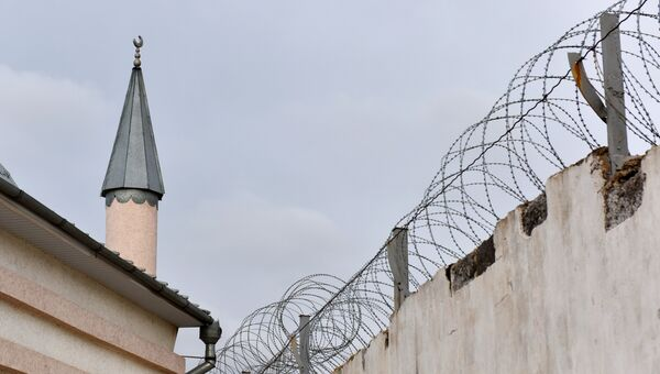 Мечеть на территории исправительной колонии №1 в Симферополе