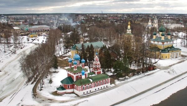 Углич. Россия. Архивное фото
