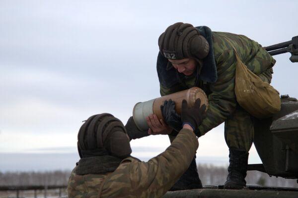Первый отборочный этап Танкового биатлона в Воронежской области