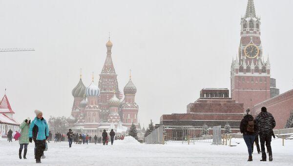 Вид на Красную площадь. Архивное фото