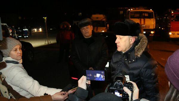 Саратовский губернатор Валерий Радаев возглавил штаб по ликвидации ЧП на нефтепроводе. 18 января 2018