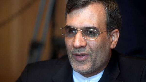 Заместитель главы МИД Ирана Хоссейн Джабери Ансари.19 января 2018