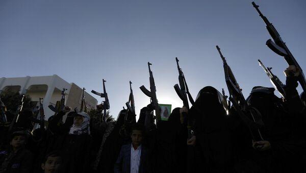 Ситуация в столице Йемена Сане. 14 января 2018