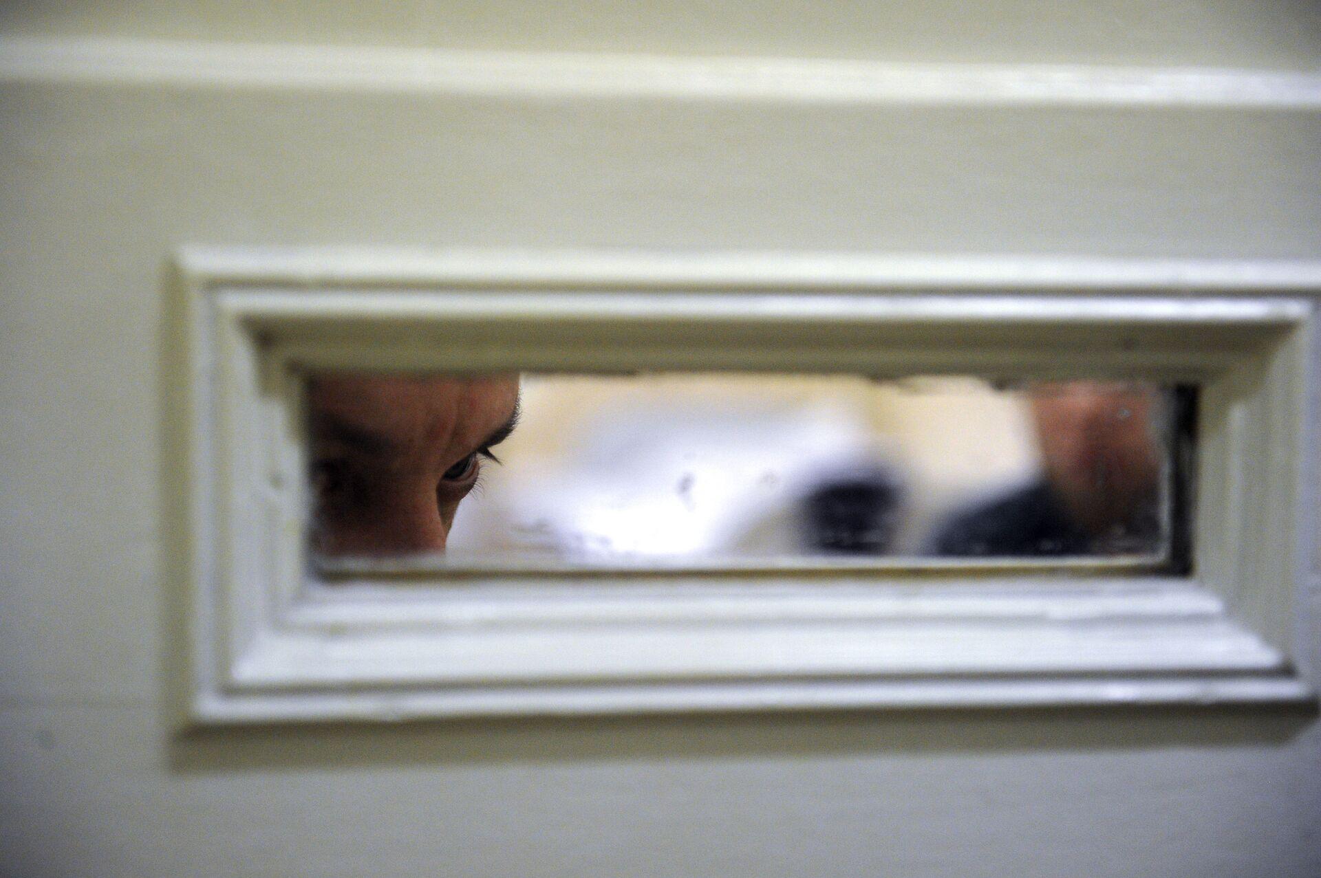 Пациент в палате психиатрического центра - РИА Новости, 1920, 22.01.2021