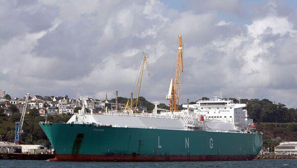 СПГ-танкер Gaselys. Архивное фото