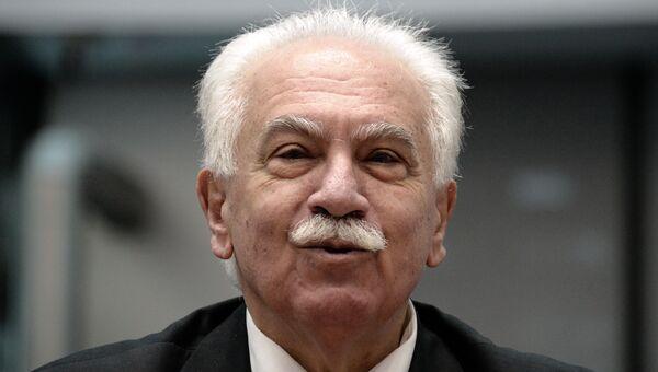 Председатель турецкой партии Родина Догу Перинчек