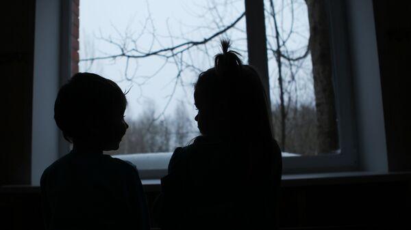 Воспитанники детского дома. Архивное фото