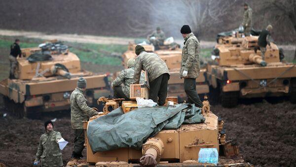 Турецкие военные в провинции Хатай