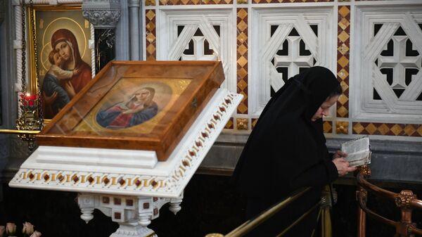 В день открытия XXVI Международных Рождественских чтений в кафедральном соборном Храме Христа Спасителя в Москве