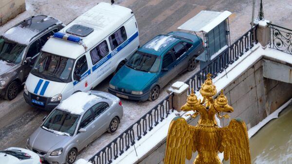 Вид на набережную канала Грибоедова в Санкт-Петербурге