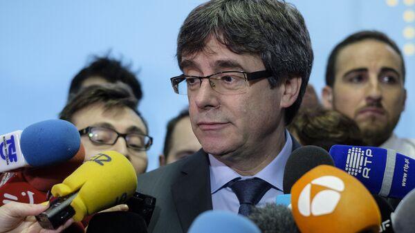 Экс-председатель каталонского правительства Карлес Пучдемон