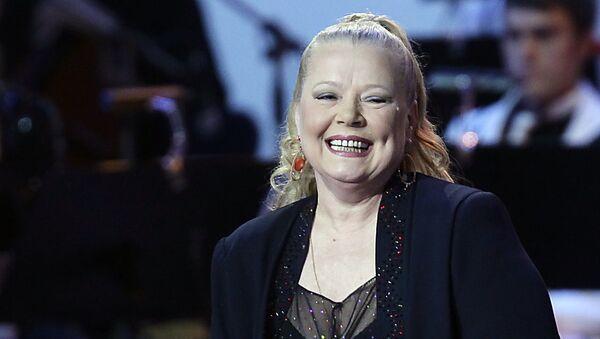 Певица Людмила Сенчина. Архивное фото