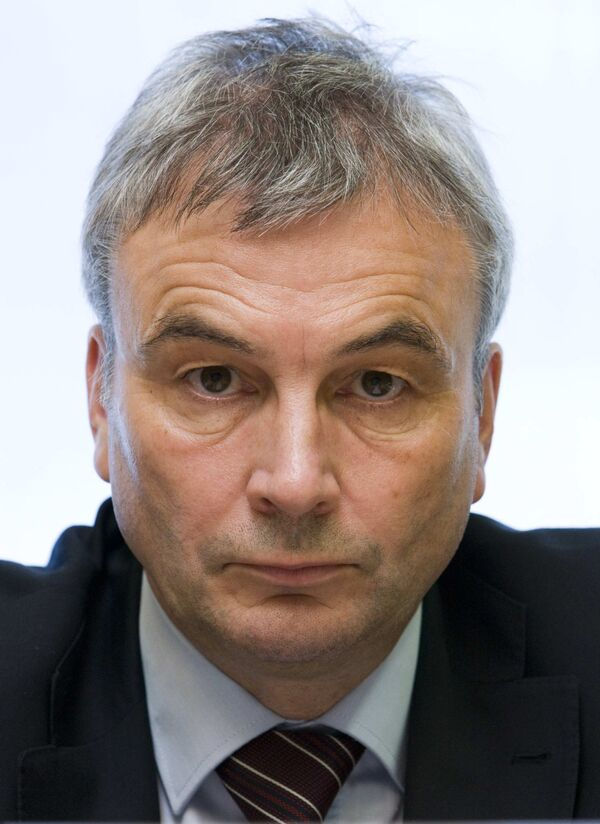 Генеральный секретарь УЕФА Дэвид Тейлор