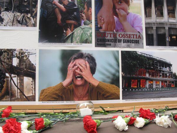 В Аргентине почтили память жертв трагедии в Южной Осетии