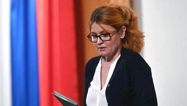 Эльвира Агурбаш.  Архивное фото