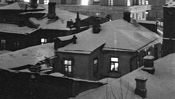 Уголок старой Москвы в районе Берсеневской набережной. 1936 год