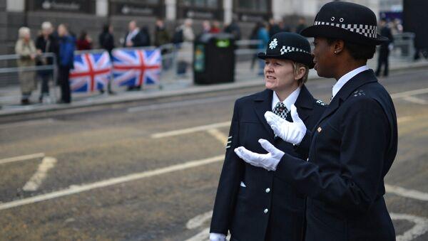 Женщины-полицейские в Лондоне