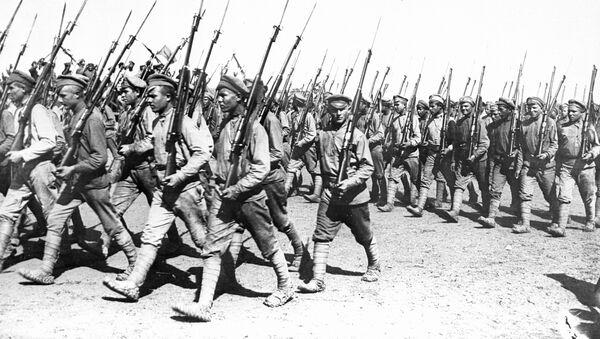 Парад Красной армии, 1920 год