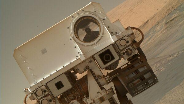 Селфи марсохода Curiosity. 23 января 2018 года