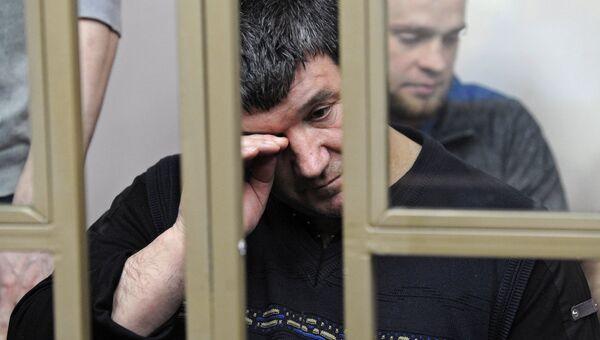 Инвер Бекиров, обвиняемый в участии в запрещенной в России террористической организации Хизб ут-Тахрир, на заседании Северо-Кавказского окружного военного суда. 31 января 2018