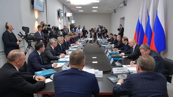 Владимир Путин проводит заседание президиума Государственного совета РФ. 1 февраля 2018