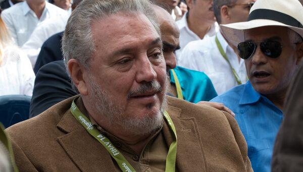 Сын бывшего лидера Кубы Фидель Анхель Кастро. Архивное фото