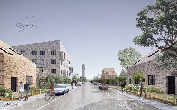 Концепция малоэтажной застройки от бюро Akhmadullin Architects