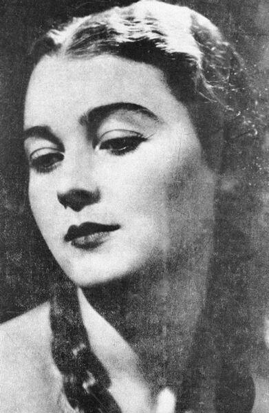 Мисс Россия 1936 года Ариадна Гедеонова