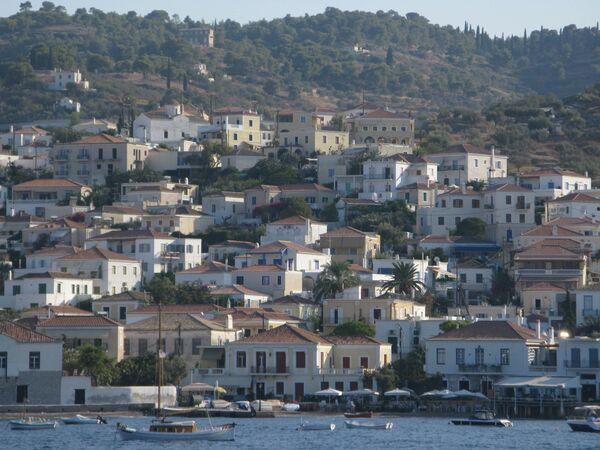 Остров Спецес в Греции