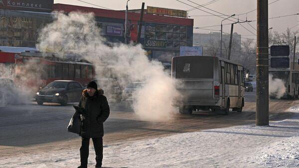 Прохожий на улице Красноярска