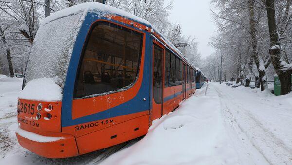 Трамвай. Архивное фото